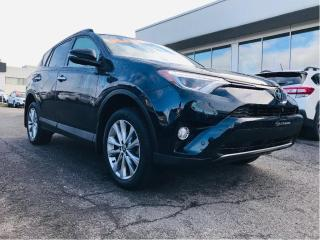 Used 2018 Toyota RAV4 AWD Limited,toit,cuir,gps for sale in Lévis, QC