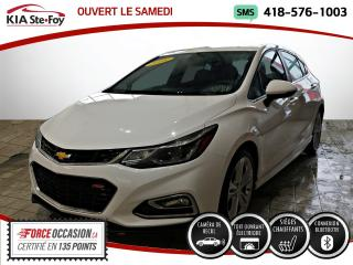 Used 2018 Chevrolet Cruze * LT TURBO DIESEL* CUIR* TOIT* SIEGES CH for sale in Québec, QC