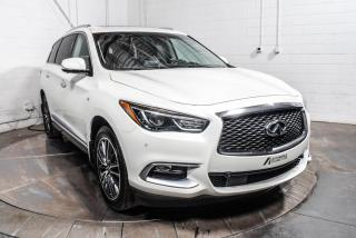 Used 2016 Infiniti QX60 AWD CUIR TOIT PANO NAV DVD 7 PASSAGERS M for sale in St-Hubert, QC