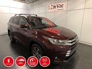 Used 2018 Toyota Highlander HYBRIDE - XLE - AWD - CUIR - GPS - TOIT OUVRANT for sale in Québec, QC