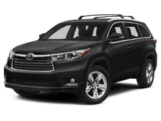 Used 2014 Toyota Highlander for sale in Calgary, AB