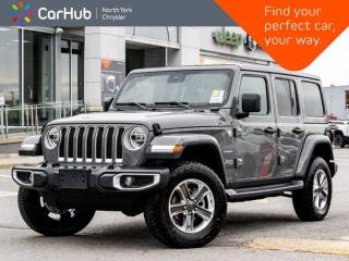 New 2020 Jeep Wrangler Unlimited SAHARA 4X4|Diesel|Sky Roof|LED Lighting|Advanced Safety for sale in Thornhill, ON