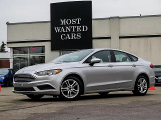 Used 2018 Ford Fusion SE|CAMERA|HEATED SEATS|BLUETOOTH|ALLOYS|XENON for sale in Kitchener, ON