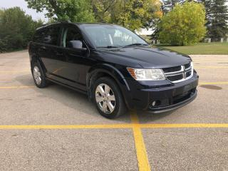Used 2011 Dodge Journey SXT Backup Camera / 7 seater for sale in Winnipeg, MB