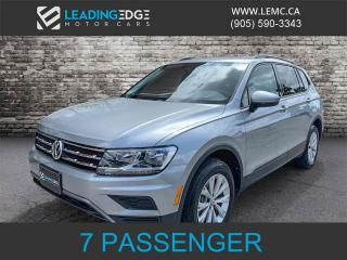 Used 2019 Volkswagen Tiguan Trendline 3rd Row, AWD, Convenience Pack! for sale in King, ON