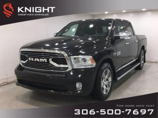 Used 2017 RAM 1500 Limited Crew Cab | Leather | Sunroof | Navigation | RamBox | for sale in Regina, SK