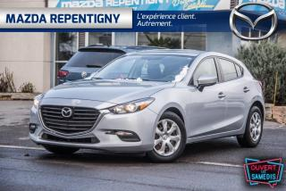 Used 2017 Mazda MAZDA3 Hayon 4 portes Sport, boîte manuelle, GX for sale in Repentigny, QC