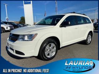 Used 2018 Dodge Journey Canada Value Pkg FWD - LOW KMS for sale in Port Hope, ON
