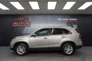Used 2015 Kia Sorento LX AWD V6 3.3L + 7 PASSAGERS MAGS SIÈGES BLUETOOTH for sale in Lévis, QC