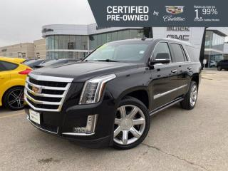 Used 2016 Cadillac Escalade Premium 4WD | Heated/Cooled Seats | Rear DVD for sale in Winnipeg, MB