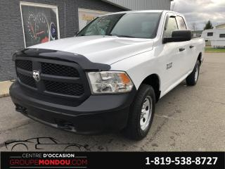 Used 2015 RAM 1500 Cabine quad 4RM, 140,5 po ST for sale in St-Georges-de-Champlain, QC