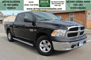 Used 2017 RAM 1500 ST | LIKE NEW | ONE OWNER | NO ACCIDENTS | Low K's Hemi 5.7 L 4x4 Six Seats Cruise Control for sale in Belle River, ON