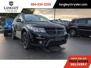 Used 2016 Dodge Journey SXT  Single Owner / Black Top for sale in Surrey, BC