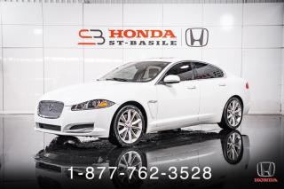 Used 2015 Jaguar XF V6 + AWD + NAVI + CUIR + TOIT + WOW! for sale in St-Basile-le-Grand, QC