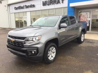 New 2021 Chevrolet Colorado 4WD LT for sale in Maple Creek, SK