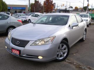 Used 2009 Lexus ES 350 TECH PKG,BLUETOOTH,GPS,BACK UP CAMERA,CERTIFIED for sale in Kitchener, ON