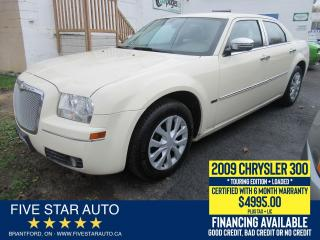 Used 2009 Chrysler 300 Touring - Certified w/ 6 Month Warranty for sale in Brantford, ON