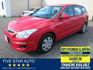 Used 2011 Hyundai Elantra Touring GLS - Certified w/ 6 Month Warranty for sale in Brantford, ON