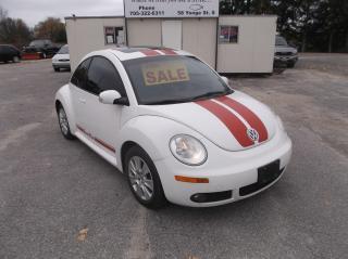 Used 2010 Volkswagen Beetle NEW BETTLE for sale in Elmvale, ON