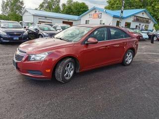 Used 2012 Chevrolet Cruze 2LT for sale in Madoc, ON