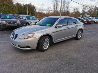 Used 2012 Chrysler 200 Touring for sale in Madoc, ON