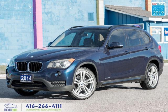 2014 BMW X1 xDrive28i|Low kms|Clean Carfax|