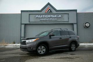 Used 2014 Toyota Highlander XLE AWD 8 Passenger for sale in Calgary, AB