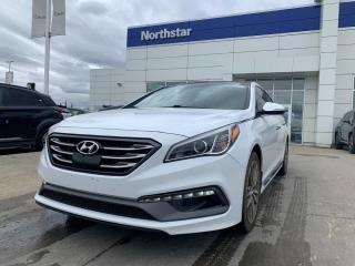 Used 2017 Hyundai Sonata 2.0 TURBO/ULTIMATE/LEATHER/SUNROOF/NAV for sale in Edmonton, AB