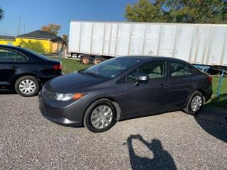 Used 2012 Honda Civic LX for sale in Oshawa, ON