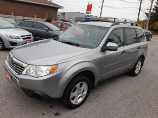 Used 2010 Subaru Forester X Sport, ACCIDENT FREE, AUTO, HEATED SEATS, 138 KM for sale in Ottawa, ON