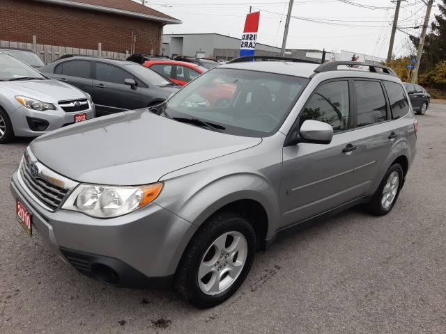 2010 Subaru Forester X Sport, ACCIDENT FREE, AUTO, HEATED SEATS, 138 KM