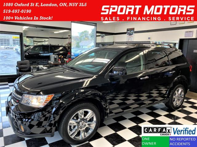 2018 Dodge Journey GT AWD 7 Passenger+Roof+DVD+GPS+ACCIDENT FREE