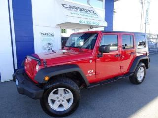 Used 2009 Jeep Wrangler X 4x4, Hard Top, A/C, 6 Speed Manual, Low KMS for sale in Langley, BC