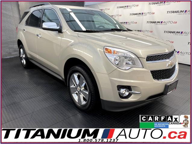 2014 Chevrolet Equinox LT-2+AWD+Camera+Brown Leather Seats+Power Gate+XM