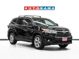 Used 2016 Toyota Highlander Limited AWD Nav Leather Sunroof Backup Camera for sale in Toronto, ON