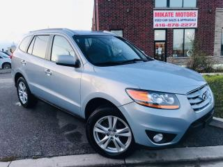Used 2010 Hyundai Santa Fe LIMITED for sale in Rexdale, ON