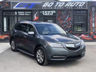 Used 2014 Acura MDX Elite Pkg for sale in Regina, SK