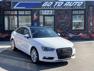 Used 2016 Audi A3 2.0T Technik for sale in Regina, SK