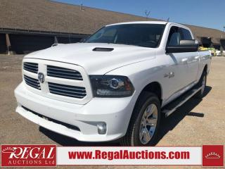 Used 2017 RAM 1500 Sport Crew CAB LWB 4WD 5.7L for sale in Calgary, AB