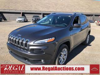 Used 2017 Jeep Cherokee North 4D Utility 4WD 3.2L for sale in Calgary, AB