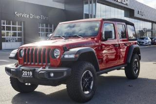 Used 2019 Jeep Wrangler Sierra Crew WRANGLER | RUBICON | SOFT TOP | ONE OWNER | CLEAN CARFAX | LOW KMS | for sale in Burlington, ON