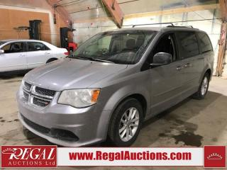 Used 2014 Dodge Grand Caravan SXT 4D Wagon for sale in Calgary, AB