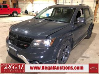 Used 2018 Dodge Journey Crossroad 4D Utility AWD for sale in Calgary, AB