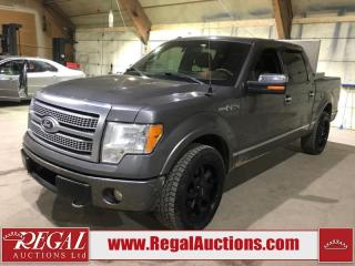 Used 2010 Ford F-150 PLATINUM 4D SUPERCREW 4WD for sale in Calgary, AB