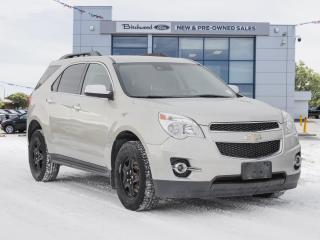 Used 2014 Chevrolet Equinox LT 2LT | HTD LEATHER | PWR LIFTGATE | AWD for sale in Winnipeg, MB