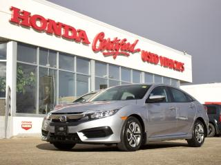 Used 2018 Honda Civic LX | BLUETOOTH | LOCAL! for sale in Winnipeg, MB