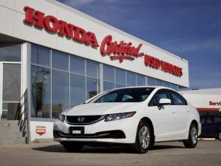 Used 2015 Honda Civic LX | BLUETOOTH | BACKUP CAM for sale in Winnipeg, MB