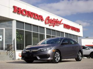 Used 2018 Honda Civic LX | APPLE CARPLAY | LOCAL for sale in Winnipeg, MB