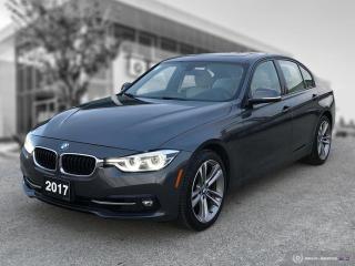 Used 2017 BMW 3 Series 330i xDrive ENHANCED - SPORT LINE for sale in Winnipeg, MB