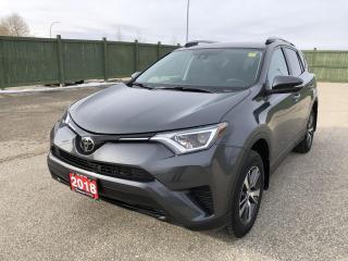 Used 2018 Toyota RAV4 LE for sale in Winnipeg, MB